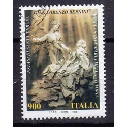 1998 Italia Repubblica Unif. 2427 - Lorenzo Bernini usato