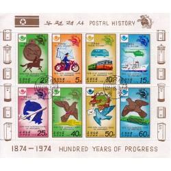 Korea - Scott A947-1677  02/03/1978 Foglietto Storia Postale usato