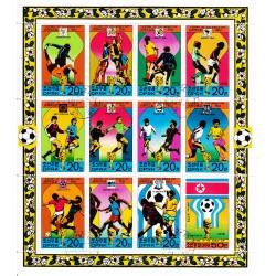 Korea - Scott A953-1698  01/06/1978 Foglietto Calcio usato