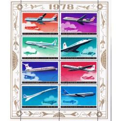 Korea - Scott A958 1749A 25/07/1978 Foglietto Aerei usato