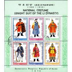Korea - Scott A981 1844 06/08/1979 Foglietto Costumi usato