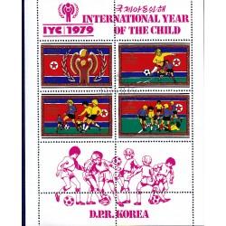 Korea - Scott A987 1886 13/10/1979 Foglietto Anno del bambino usato