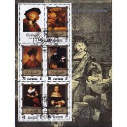 Korea - Scott A1094 2268 25/01/1983 Foglietto Pittori Rembrandt usato