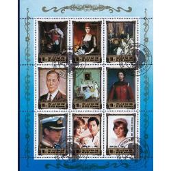 Korea - Scott A1169 2446 20/12/1984 Foglietto Reali Europei usato