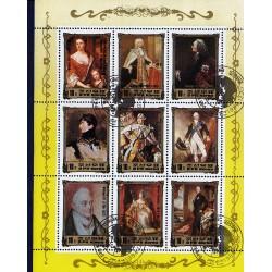Korea - Scott A1169 2445 20/12/1984 Foglietto Reali Europei usato