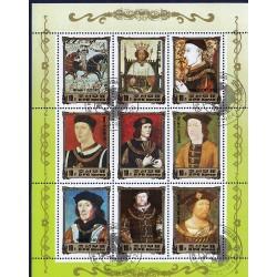 Korea - Scott A1169 2442 20/12/1984 Foglietto Reali Europei usato