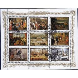 Korea - Scott A1168 2440 20/12/1984 Foglietto Reali Europei usato