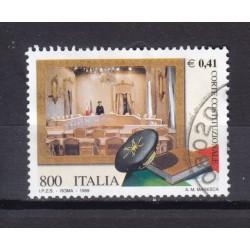 1999 Italia Repubblica - Unif. 2446 - corte costituzionale - usato