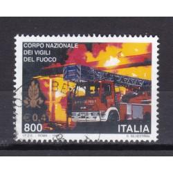 1999 Italia Repubblica - Unif. 2447 - vigili del fuoco - usato
