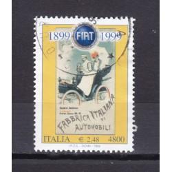 1999 Italia Repubblica - Unif. 2456 - fondazione fiat - usato