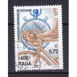 1999 Italia Repubblica - Unif. 2461 - campionati ciclismo