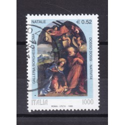 1999 Italia Repubblica - Unif. 2474 - natale - usato