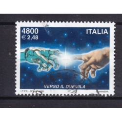 1999 Italia Repubblica - Unif. 2478 - avvento anno 2000 - usato
