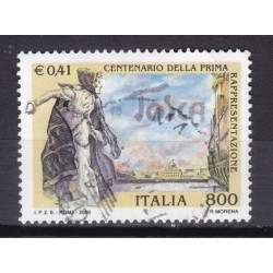 2000 Italia Repubblica - Unif. 2485 - tosca - usato