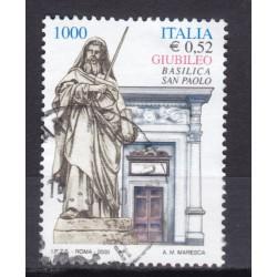 2000 Italia Repubblica - Unif. 2486 - giubileo 2000 - usato
