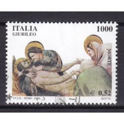 2000 Italia Repubblica - Unif. 2502 - giubileo 2000- usato