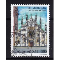 2000 Italia Repubblica - Unif. 2519 - duomo di monza - usato