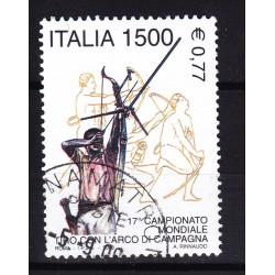 2000 Italia Repubblica - Unif. 2526 - tiro con arco - usato
