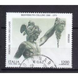 2000 Italia Repubblica - Unif. 2546 - benvenuto cellini - usato