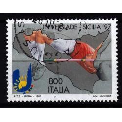 1997  Italia Repubblica - Unif. 2340 - universiadi palermo - usato