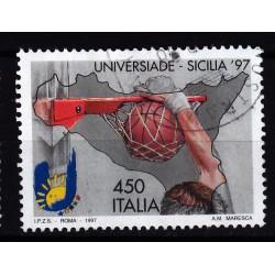 1997  Italia Repubblica - Unif. 2339 - universiadi palermo - usato