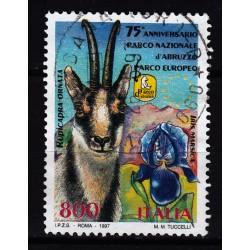 1997  Italia Repubblica - Unif. 2326 - parco nazionale- usato