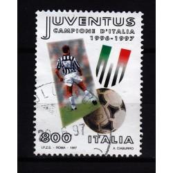 1997  Italia Repubblica - Unif. 2323 - campionato calcio  - usato