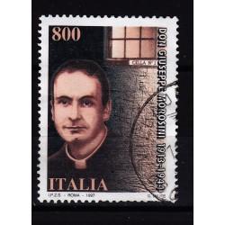 1997  Italia Repubblica - Unif. 2322  don morsini  - usato