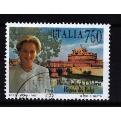 1997  Italia Repubblica - Unif. 2319 --  paola ruffo -  usato