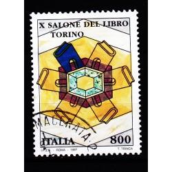 1997  Italia Repubblica - Unif. 2318 --  salone del libro -  usato