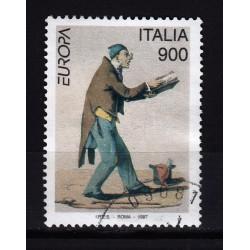 1997  Italia Repubblica - Unif. 2312 -- europa unita  -  usato