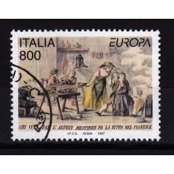 1997  Italia Repubblica - Unif. 2311 -- europa unita  -  usato