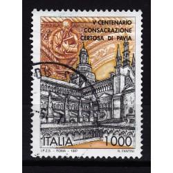 1997  Italia Repubblica - Unif. 2310  -- certosa di pavia  -  usato