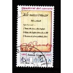 1997  Italia Repubblica - Unif. 2309  -- antonio gramsci  -  usato