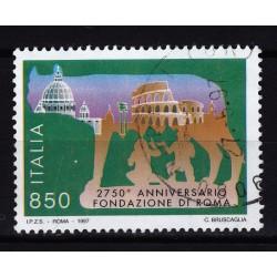 1997  Italia Repubblica - Unif. 2307 -- fondazione di roma  -  usato