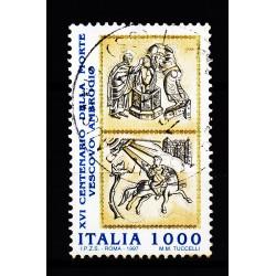1997  Italia Repubblica - Unif. 2304 -- vescovo ambrogio  -  usato