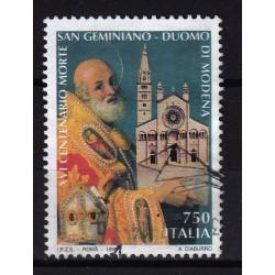 1997  Italia Repubblica - Unif. 2303 -- duomo di modena -  usato