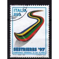 1997  Italia Repubblica - Unif. 2295 -- campionati mondiali  -  usato