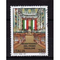 1997  Italia Repubblica - Unif. 2293 -- primo tricolore  -  usato