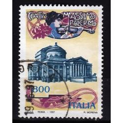 1997  Italia Repubblica - Unif. 2313 -- teatro massimo -  usato