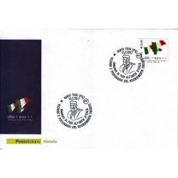 FDC ITALIA Marcofilia Annullo speciale 13/02/2011 150° An. Unità D'italia Todi