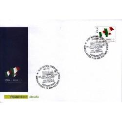 FDC ITALIA Marcofilia Annullo speciale n° 150 16/03/2011 Mantova