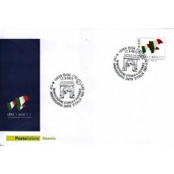 FDC ITALIA Marcofilia Annullo speciale n° 179 17/03/2011 SUSA