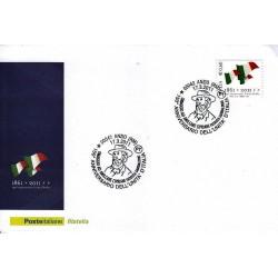 FDC ITALIA Marcofilia Annullo speciale n° 177 17/03/2011 Anzio