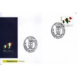 FDC ITALIA Marcofilia Annullo speciale n° 262 17/03/2011 Montecassiano