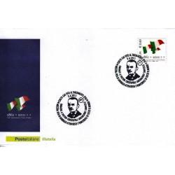 FDC ITALIA Marcofilia Annullo speciale n° 130 09/04/2011 San Vito Al Tagliamento