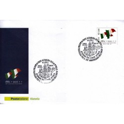 FDC ITALIA Marcofilia Annullo speciale n° 391 09/04/2011 Altamura