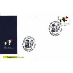 FDC ITALIA Marcofilia Annullo speciale n° 931 02/06/2011Albavilla (CO)