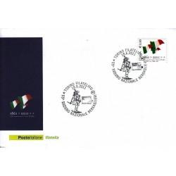 FDC ITALIA Marcofilia Annullo speciale n° 1060 18/06/2011 Torino Filatelico