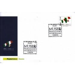 FDC ITALIA Marcofilia Annullo speciale n° 1113 25/06/2011 Gavinana (PT)